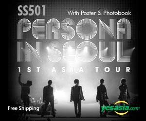 SS501 - 1st Asia Tour Persona In Seoul (3DVD + Photobook + Poster)