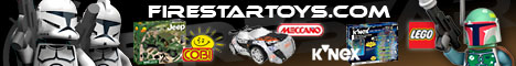 FireStar Toys discount voucher codes - LEGO Figures, construction sets and rc toys