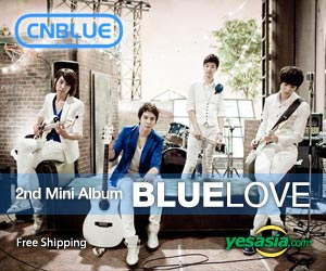 CNBLUE 2nd Mini Album - Bluelove