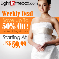 LightInTheBox wedding dress