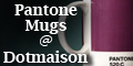 Pantone Mugs at Dotmaison