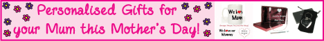 Mother's Day at Personalised Gift Ideas