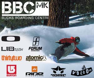 Snowboard gear at BBC MK