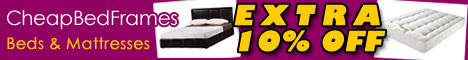 Extra 10% Off Beds and Mattresses