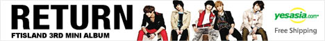 FTIsland Mini Album Vol. 3 - Return