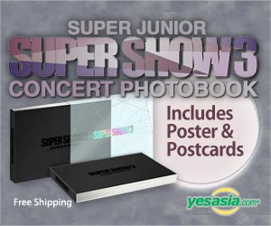 Super Junior - Super Show 3 Concert Photobook (Photobook + Postcard + Poster in Tube)