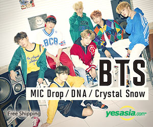 MIC Drop / DNA / Crystal Snow (SINGLE+DVD) (Japan Version)
