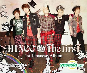THE FIRST (ALBUM+DVD)(First Press Limited Edition)(Japan Version)