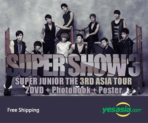 Super Junior - The 3rd Asia Tour: Super Show 3 (2DVD + Photobook + Folded Poster) (Korea Version)