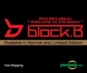 Block B Mini Album Vol. 2 - Welcome to the BLOCK (Limited Edition)