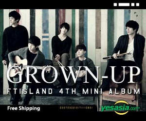 FTIsland Mini Album Vol. 4 - GROWN-UP