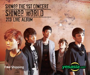SHINee - The 1st Concert 'SHINee World' (2CD)