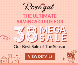 3.8 Mega Shopping Guide: Don't Miss Out Our Best Deals For Spring!