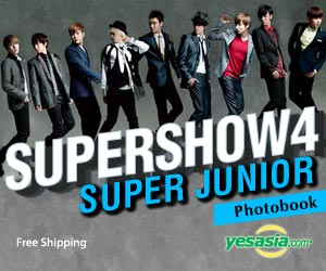 Super Junior - Super Show 4 Photobook (Limited Edition) + Poster in Tube