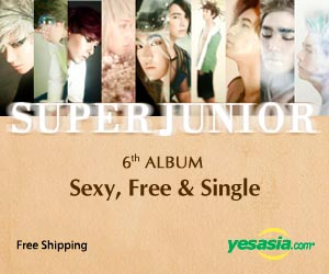 Super Junior Vol. 6 - Sexy, Free & Single