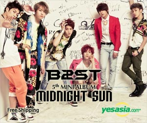 BEAST Mini Album Vol. 5 - Midnight Sun
