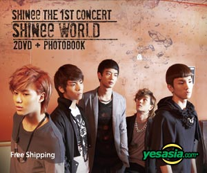 The 1st Concert SHINee World (2DVD + Photobook + Poster in Tube) (Korea Version)