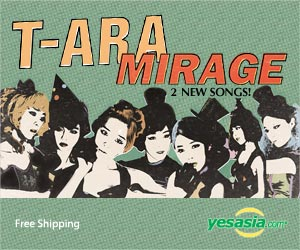 T-ara Mini Repackage Album - Mirage