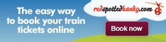 Rail travel from Rhostyllen