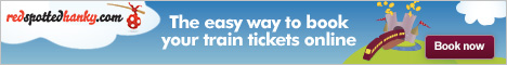 Train travel bookings and timetables