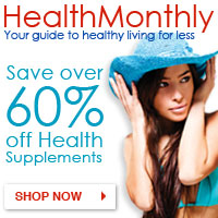 Vitamins, Supplements & Personal Care @ Health Monthly – Click Here