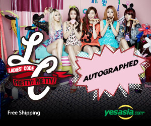 Ladies' Code Mini Album Vol. 2 - Code#2 Pretty Pretty (Autographed CD)