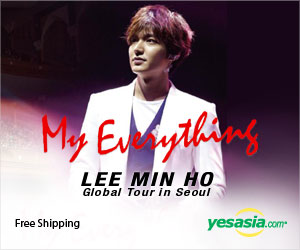 Lee Min Ho - 2013 Global Tour 'My Everything' in Seoul (DVD) (2-Disc) (Korea Version) + Poster in Tube