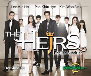 The Heirs (DVD) (10-Disc) (Director's Cut) (First Press Limited Edition) (English Subtitled) (SBS TV Drama) (Korea Version) + Gift