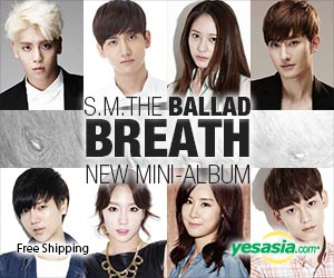 S.M. THE BALLAD Vol. 2 - Breath (Korean Version)
