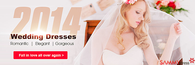 Beautiful Brides at sammydress.com!