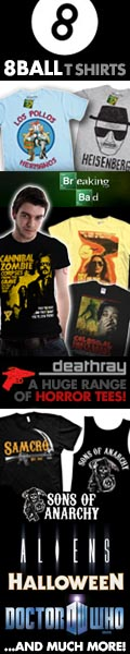 Horror cult tv t-shirts at 8Ball