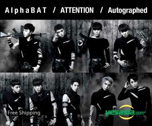 AlphaBAT Mini Album Vol. 1 - Attention (Autographed CD) (Limited Edition)