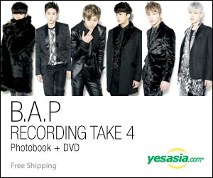 B.A.P Photobook - Recording Take 4 (Photobook + DVD)