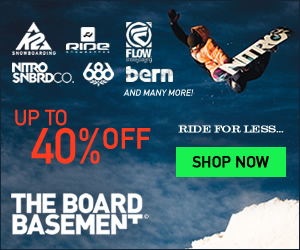 Find the best deals on clearance and last season's snowboarding gear at The Board Basement! Click He