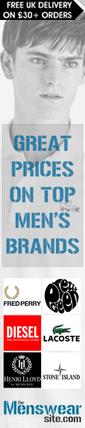 The Menswear Site - Great prices on top men's fashion brands