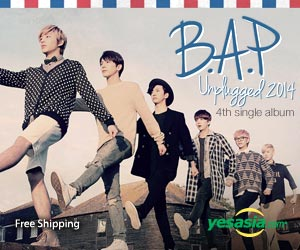 B.A.P Single Album Vol. 4 - B.A.P Unplugged 2014 + 1 Random Poster in Tube
