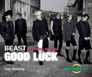 BEAST Mini Album Vol. 6 - Good Luck (Black Version) />