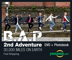 JYJ Concert in Tokyo Dome 2013 'B.A.P - 2nd Adventure: 30000 Miles on Earth (2DVD + Photobook) (Korea Version)
