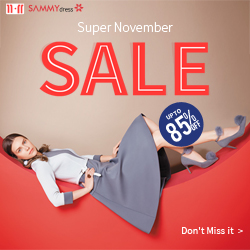 50% OFF for ALL New Arrivals! Get Fresh and Fabulous Fashion at sammydress.com!