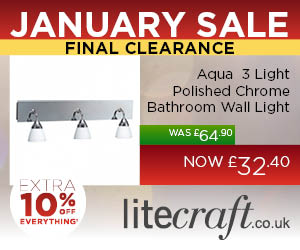 Litecraft 10% End of Sale Clearance Voucher