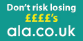 Earn lottery points with ala.co.uk