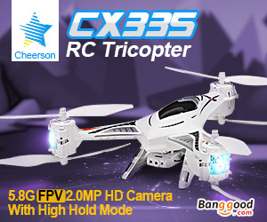 Tricopter CX335