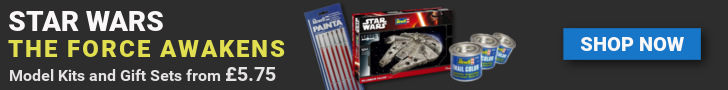 Revell Model Kits for the new Star Wars film The Force Awakens