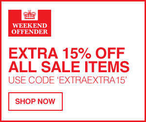 Weekend Offender Discount: Extra 15% Off Sale Items