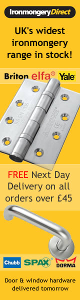 Sample Ironmongery Direct banner for affiliates - also text links and email creative available