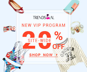 VIP Get 20% OFF Site Wide at Trendsgal.com