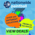 Nationwide Paintball Games