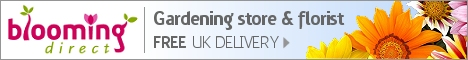 Gardening store & florist with FREE UK delivery >