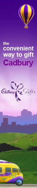 Christmas starts at Cadbury Gifts Direct