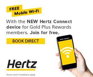 Save up to 15% on car hire worldwide when you pre-pay online with Hertz